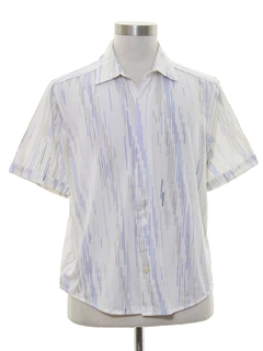 1980's Mens Club or Rave Style Shirt
