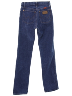 1980's Womens Highwaisted Western Jeans Pants