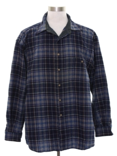 1990's Mens Grunge Pendleton Wool Flannel Shirt