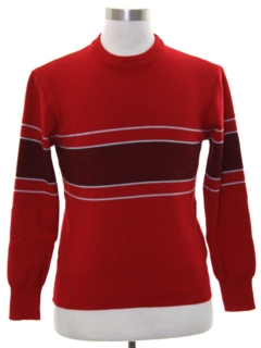 1960's Mens Mod Ski Sweater