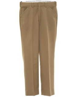 1970's Mens Flared Disco Style Leisure Pants