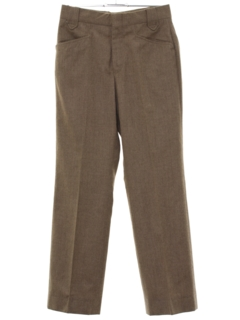 1970's Mens Mod Wool Western Style Leisure Pants