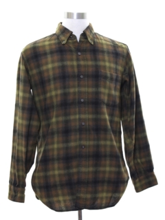 a78aeaccadb1b3 Mens Vintage Wool Shirts at RustyZipper.Com Vintage Clothing
