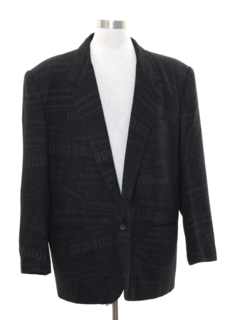 1990's Mens Wicked 90s Blazer Sport Coat Jacket