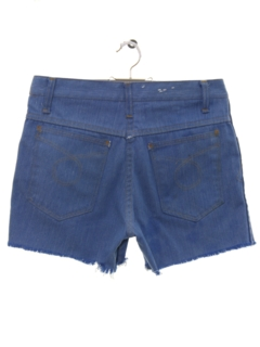 1970's Womens Cut Off Denim Jeans Shorts