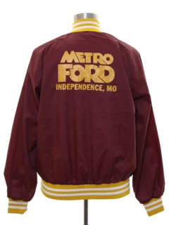 1970's Mens Ford Baseball Jacket