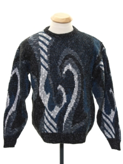1980's Unisex Ladies or Boys Totally 80s Cosby Sweater