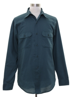 1970's Mens Work Shirt