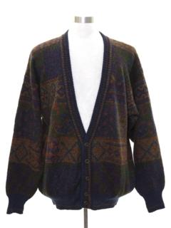 Mens Vintage Cardigan Sweaters At Rustyzippercom Vintage Clothing