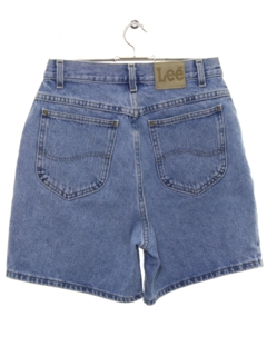 1990's Womens High Waisted Denim Jeans Shorts