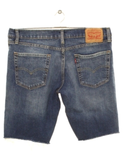 1990's Mens Grunge Denim Jeans Shorts