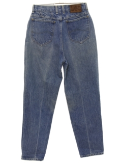 1980's Womens Highwaisted Straight Leg Totally 80s Denim Jeans Pants