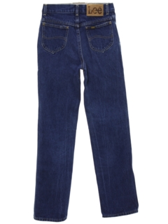 1980's Womens Straight Leg Denim Jeans Pants