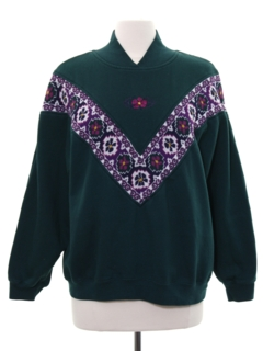1980's Womens Totally 80s Sweatshirt