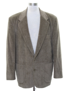 1980's Mens Corduory Blazer Sport Coat Jacket