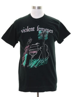 1990's Unisex Band Concert Violent Femmes T-shirt