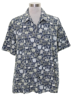 1990's Mens Club or Rave Shirt
