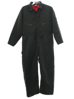 1980's Mens Mechanics Coveralls Overalls