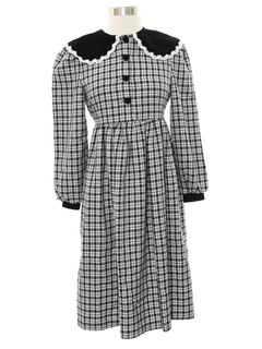 1980's Womens School Teacher Style Dress