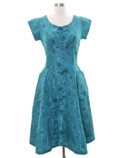 1950's Womens Fab Fifties Cocktail Dress