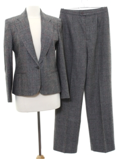 1980's Womens Wool Suit