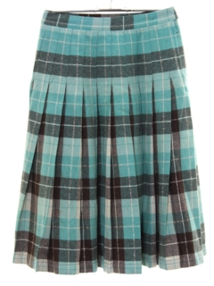 1950's Womens Reversible Wool Skirt