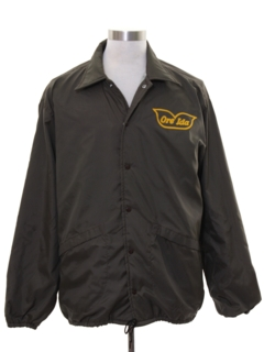 1960's Mens Windbreaker Style Work Jacket