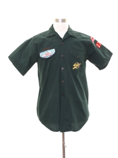 1960's Mens Scout Uniform Shirt