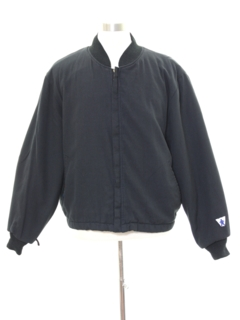 1990's Mens Gas Station Style Zip Jacket