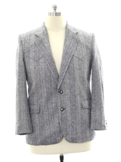 1980's Mens Totally 80s Western Blazer Sportcoat Jacket