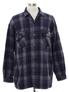 1990's Mens CPO Flannel Shirt