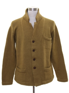1950's Mens Cardigan Sweater