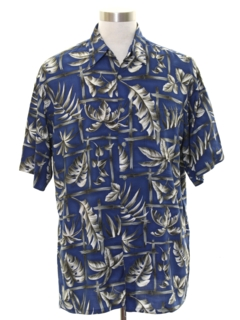 1980's Mens Rayon Hawaiian Shirt