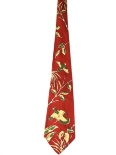 1940's Mens Wide Swing Hunting Necktie