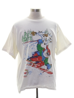 1990's Mens Christmas T-shirt