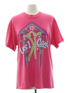 1980's Womens Totally 80s T-shirt