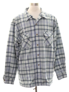 1950's Mens Pendleton Flannel Board Shirt