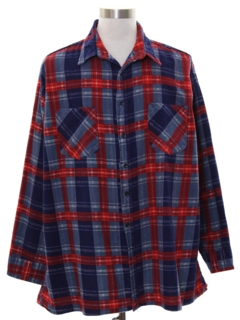 1990's Mens Lumberjack Plaid Flannel Shirt