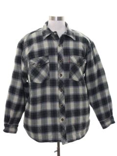 1990's Mens Levis Flannel CPO Shirt Jacket