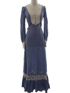 2cb333f6d51b7 Vintage Prairie Dresses at RustyZipper.Com Vintage Clothing