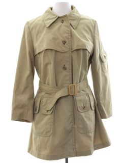 1970's Womens Mod Overcoat Jacket