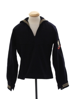 1960's Unisex Navy Issue Shirt-jacket