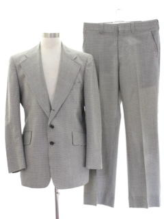 1960's Mens Wool Suit
