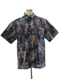 1980's Mens Totally 80s Style Hawaiian Shirt