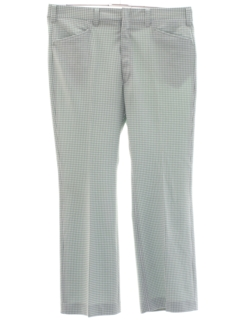 1970's Mens Flared Golf Style Leisure Pants