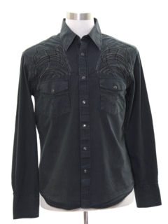 1990's Mens Rodeo Style Western Shirt