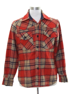 1970's Mens Western CPO Shirt Jacket