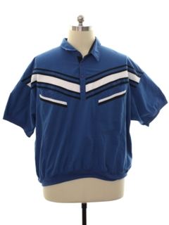 1990's Mens Resort Wear Golf Shirt