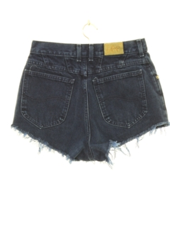 1980's Womens Totally 80s High Waisted Denim Cut off Shorts