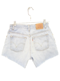 1990's Womens Denim Cut Off Shorts